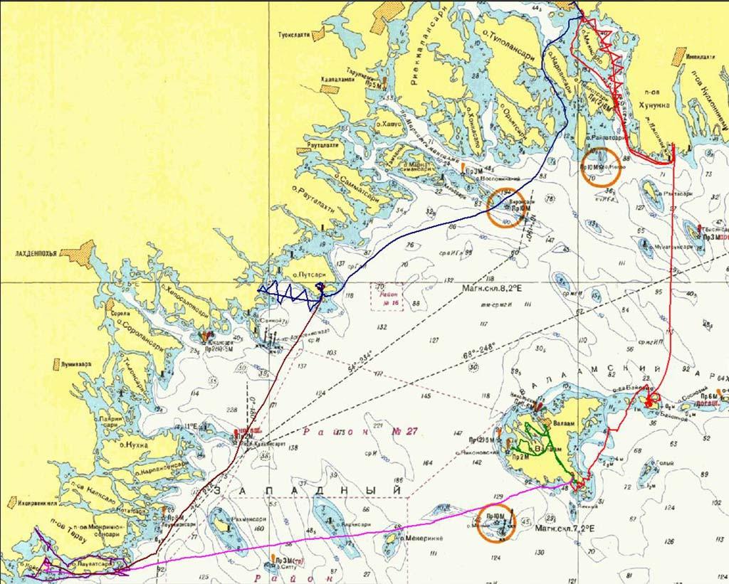 Ладожское озеро где находится на карте