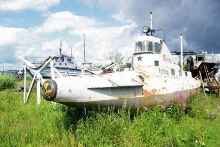 маленькой подводной лодки.